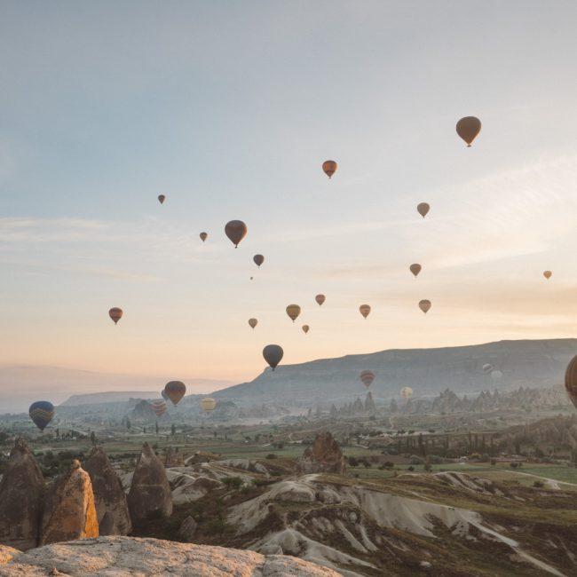 Sunrise Hot air balloon in Cappadocia [David Tan]