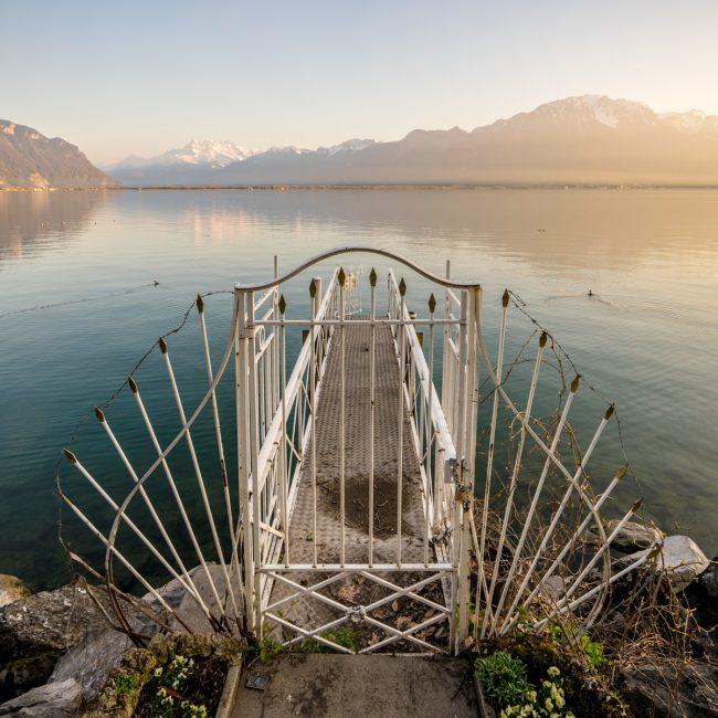 Gate in Montreux, Geneva Lake [David Tan]