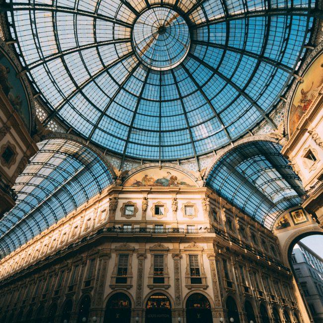 Milan Galleria celling [David Tan]